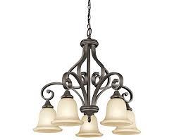 Swing From The Chandelier Monroe 5 Light Chandelier In Olde Bronze