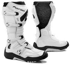 white motorbike boots klutch industries boots forma terrain evo hps