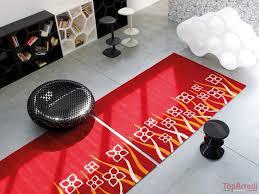 tappeto moderno rosso tappeto moderno butterfly