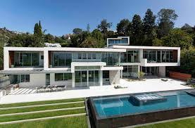 Home Design Los Angeles Ultramodern Hillside Los Angeles Jet Set Estate