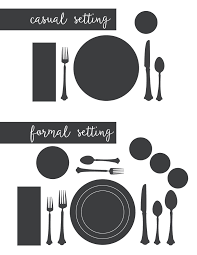 Setting Formal Dinner Table Entertaining Tips U0026 Setting A Proper Table Formal Holidays And