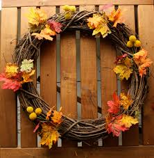easy diy thanksgiving wreath best home decor project for kid craft