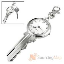 unique keychain unique big key shaped key chain clip keychain watches