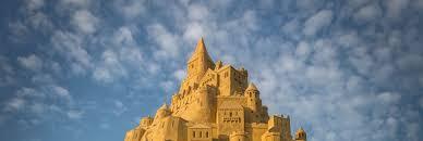 Calvin Seibert World U0027s Tallest Sandcastle Rises In A German Landlocked City