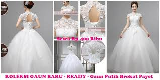 wedding dress brokat sewa bridal jogja penyewaan gaun bridal jas pria wedding