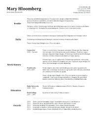 easy resume format easy resume format easy resume sles 4 goldfish bowl template