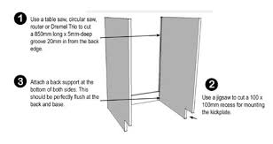 What Is Standard Height For Kitchen Cabinets Home Dzine Kitchen Easy Diy Kitchen Cabinet Repairs