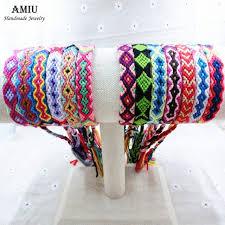 string friendship bracelet images Amiu friendship bracelets wrap thin cotton bracelets woven rope jpg