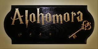 Key Home Decor Alohomora Key Holder Key Holder Leash Holder Home Decor