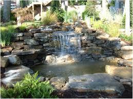 Backyards Gorgeous Diy Backyard Waterfall Diy Backyard Waterfall - Backyard waterfall design