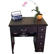 sewing tables by sara amazon com auntie black laminate airlift sewing cabinet