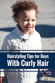 haircuts for biracial boys father shares tips on styling son s curly hair weather anchor mama