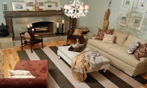 striped sofas living room furniture genevieve gorder living room