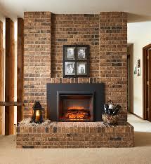 masonry fireplace binhminh decoration