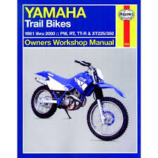 aw motorcycle parts haynes manual 2350 yamaha trail bikes owners