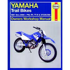 aw motorcycle parts haynes manual 2350 yamaha trail bikes owners