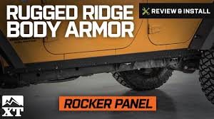 jeep body armor bumper jeep wrangler rugged ridge body armor rocker side panel kit 2007
