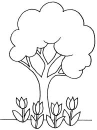 Coloriage Arbres  Les beaux dessins de Nature à imprimer et colorier