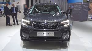 subaru forester 2018 subaru forester 2 0xt sport 2018 exterior and interior youtube
