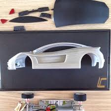 koenigsegg scalextric my body concept 3d printed for slot car scale 1 24 slot car