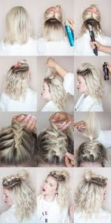 best 25 braided top knots ideas on pinterest hair knot tutorial