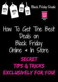 how to get the best deals on black friday during the holidays