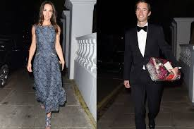 pippa middleton and james matthews make their first official