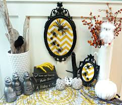 diy chevron spider art plus a halloween project parade and blog