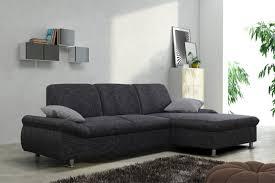 sofa mit schlaffunktion kaufen schlafsofa sofa ecksofa eckcouch in graubraun mit