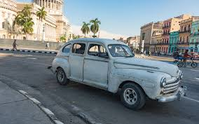 teal car photos of cuba u0027s classic cars travel leisure