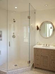 Corner Shower Glass Doors Corner Shower Glass Geekswag Me