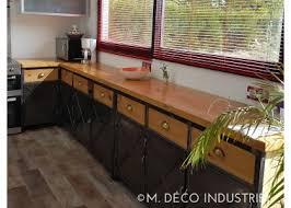 cuisine style indus cuisine de style industriel acier et bois massif m déco industriel