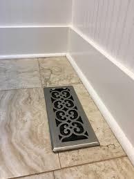 Decor Floor Registers Bathroom Remodel Before U0026 After Mud And Merlot