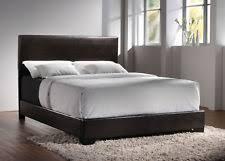 King Upholstered Platform Bed Coaster 300261ke King Upholstered Platform Bed In