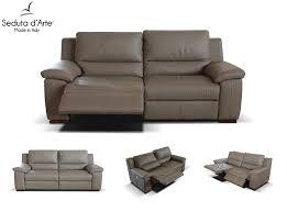 Lane Furniture Leather Reclining Sofa by Italian Reclining Sofa By Seduta D U0027arte