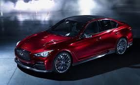 nissan maxima vs infiniti q50 infiniti q50 eau rouge concept u0027s soundtrack makes for easy