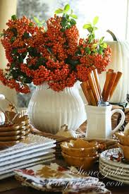 cozy diy thanksgiving office decorations decor thanksgiving table