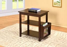 Chair Side End Table Chairside End Table With Magazine Rack