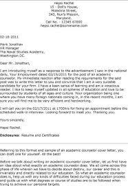 Academic Resume Template For College College Advisor Cover Letter Inspirational Academic Advising