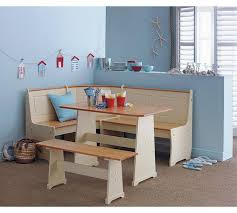 Buy HOME Haversham Solid Pine Corner Dining Set With Bench At - Argos kitchen tables