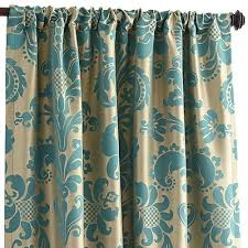 Teal Damask Curtains Interesting Green And Turquoise Curtains Ideas With Wonderful