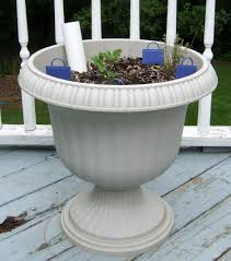 self watering planter diy self watering planter options little victorian