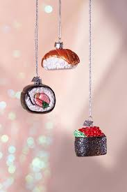 sushi ornament set outfitters