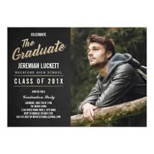 chalkboard graduation invitations announcements zazzle
