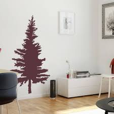 pine tree wall decal vinyl wall stickers for modern wall design pine tree wall decal vinyl wall stickers for modern wall design for home decor art