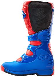 motocross boots clearance fox mtb knee pads fox comp 5 mx boots motocross red blue fox 180