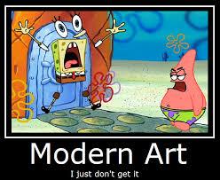 Modern Art Meme - spongebob squarepants modern art by masterof4elements on deviantart