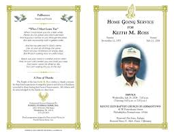 free printable funeral program template best template examples