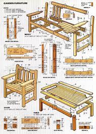 garden bench plans home outdoor decoration
