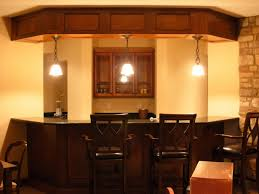 basement creative basement bar decoration design ideas with black